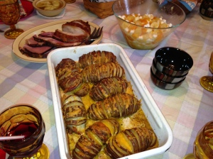 Our Easter Celebration - lots of good food